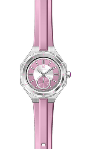 Technomarine Women's TM-118003 Quartz 3 Hand Pink Dial Watch