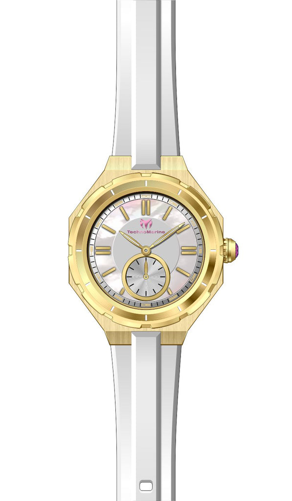 Technomarine Women's TM-118006 Quartz 3 Hand MOP Dial Watch