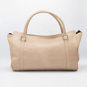 Tory - Genuine Ostrich and Leather Messenger