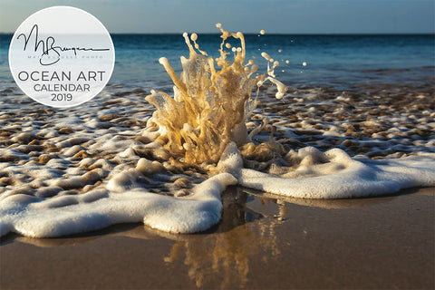 Matt Burgess Photo 2019 Ocean Art Calendar (S A L E on NOW)