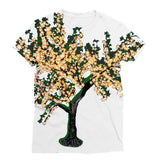 Shadow Tree in Green Sublimation T-Shirt