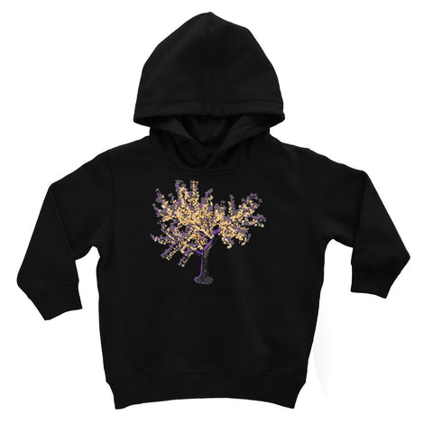 Shadow Tree in Purple Kids' Hoodie