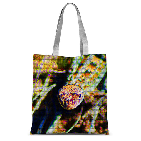 Lizard Looks Sublimation Tote Bag