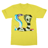 Colorful Cobras Softstyle Ringspun T-Shirt