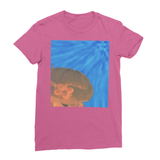 Jellyfish in Peach Women's Fine Jersey T-Shirt