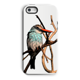 Blue-Breasted Kingfisher Phone Case
