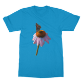 Peaceful Butterfly Softstyle Ringspun T-Shirt