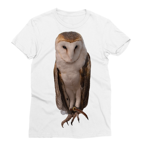 Thoughtful Owl Sublimation T-Shirt