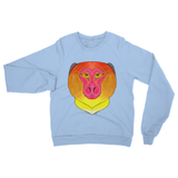 Fire Monkey Heavy Blend Crew Neck Sweatshirt
