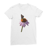 Peaceful Butterfly Women's Fine Jersey T-Shirt