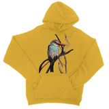 Blue-Breasted Kingfisher College Hoodie