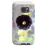 Black Hollyhock Phone Case