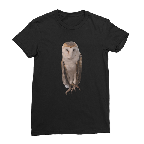Thoughtful Owl Women's Fine Jersey T-Shirt