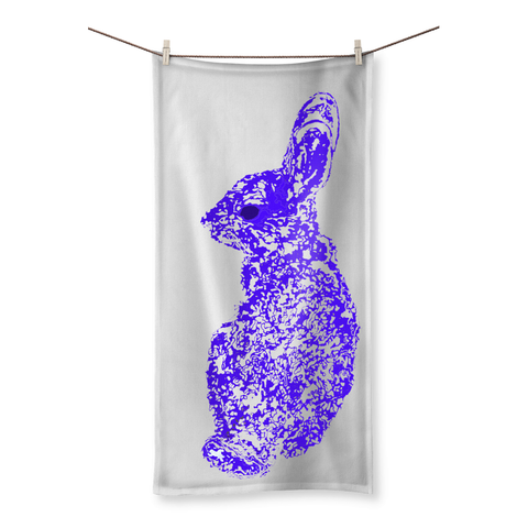 Rabbit's Gaze Beach Towel