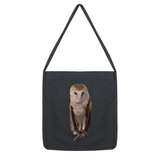 Thoughtful Owl Tote Bag