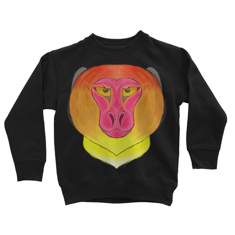Fire Monkey Kids Sweatshirt
