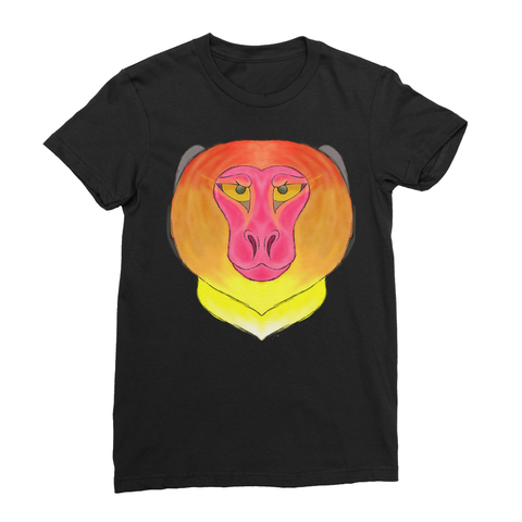 Fire Monkey Women's Fine Jersey T-Shirt