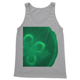 Jellyfish in green Softstyle Tank Top