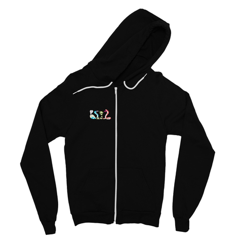 Colorful Cobras Fine Jersey Zip Hoodie