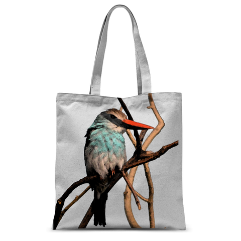 Blue-Breasted Kingfisher Tote Bag