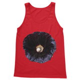 Black Hollyhock Softstyle Tank Top