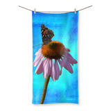 Peaceful Butterfly Beach Towel