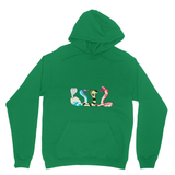 Summer Snakes Heavy Blend Hooded Sweatshirt