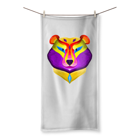 Spring Bear Beach Towel