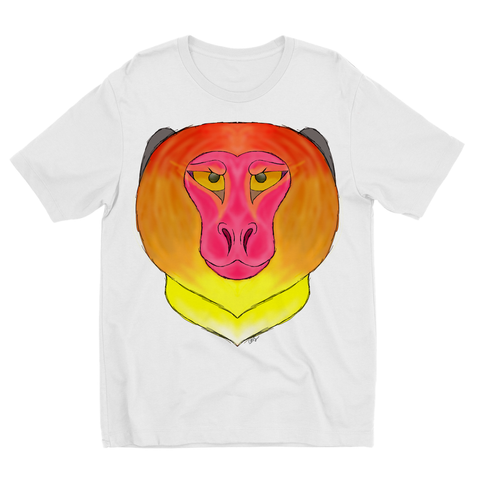 Fire Monkey Kids Sublimation TShirt