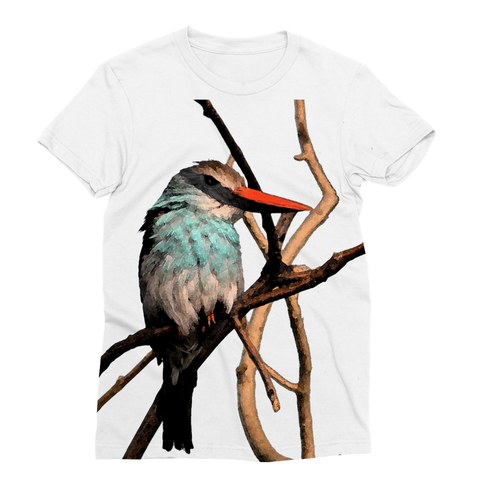 Blue-Breasted Kingfisher Sublimation T-Shirt
