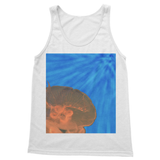 Jellyfish in Peach Softstyle Tank Top
