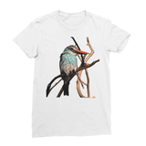 Blue-Breasted Kingfisher Women's Fine Jersey T-Shirt