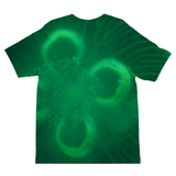Jellyfish in green Kids Sublimation TShirt