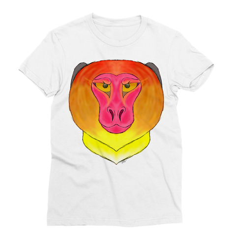 Fire Monkey Sublimation T-Shirt