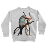 Blue-Breasted Kingfisher Kids Sweatshirt