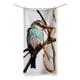 Blue-Breasted Kingfisher Beach Towel