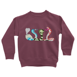 Summer Snakes Kids Sweatshirt