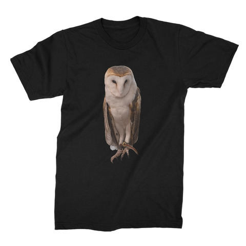 Thoughtful Owl Unisex Fine Jersey T-Shirt