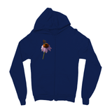 Peaceful Butterfly Kids Zip Hoodie