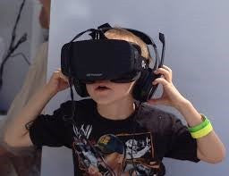 kids vr virtual reality headset microphone viewfinder