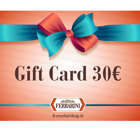GIFT CARD 30,00 €