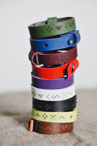 Colorfull bracelet with Baltic signs - WildGood