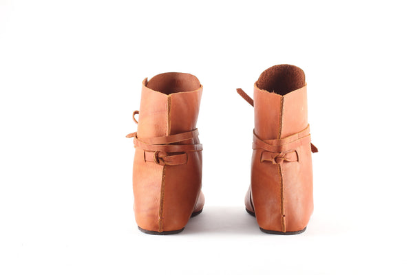 Light brown leather boots - WildGood
