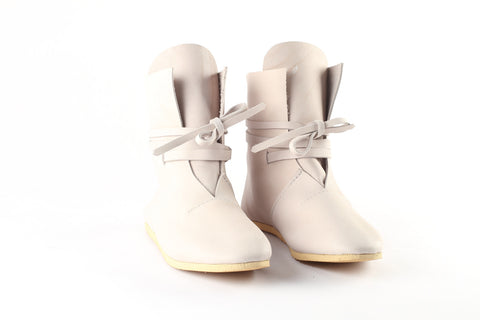 White leather boots - WildGood