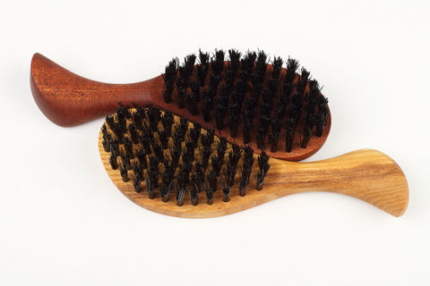 Eco boar bristle hair brush - Pocket - WildGood