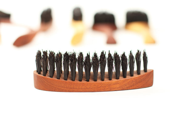 Eco Mens boar bristle hair brush Roman Classic - WildGood