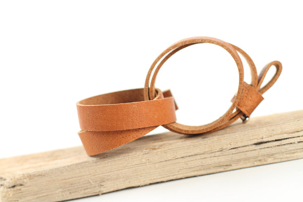 wild good leather bracelet two + blank