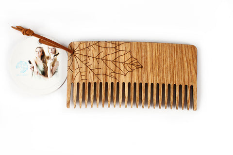 Ecological wooden comb - Maple - WildGood