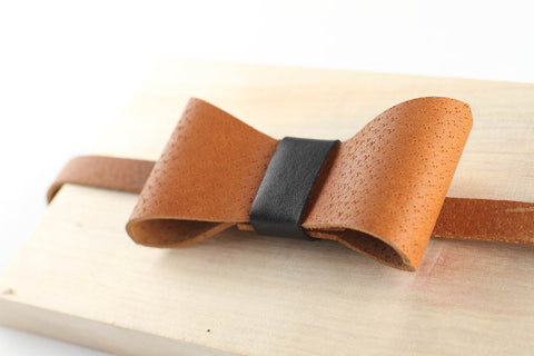 Leather bow tie - WildGood