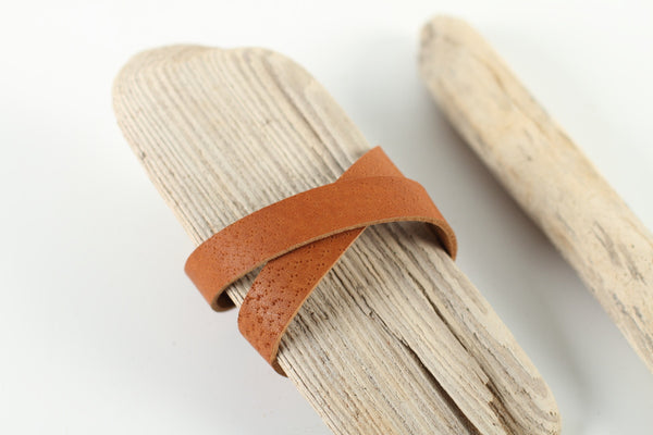 Leather wrap bracelet blank - WildGood